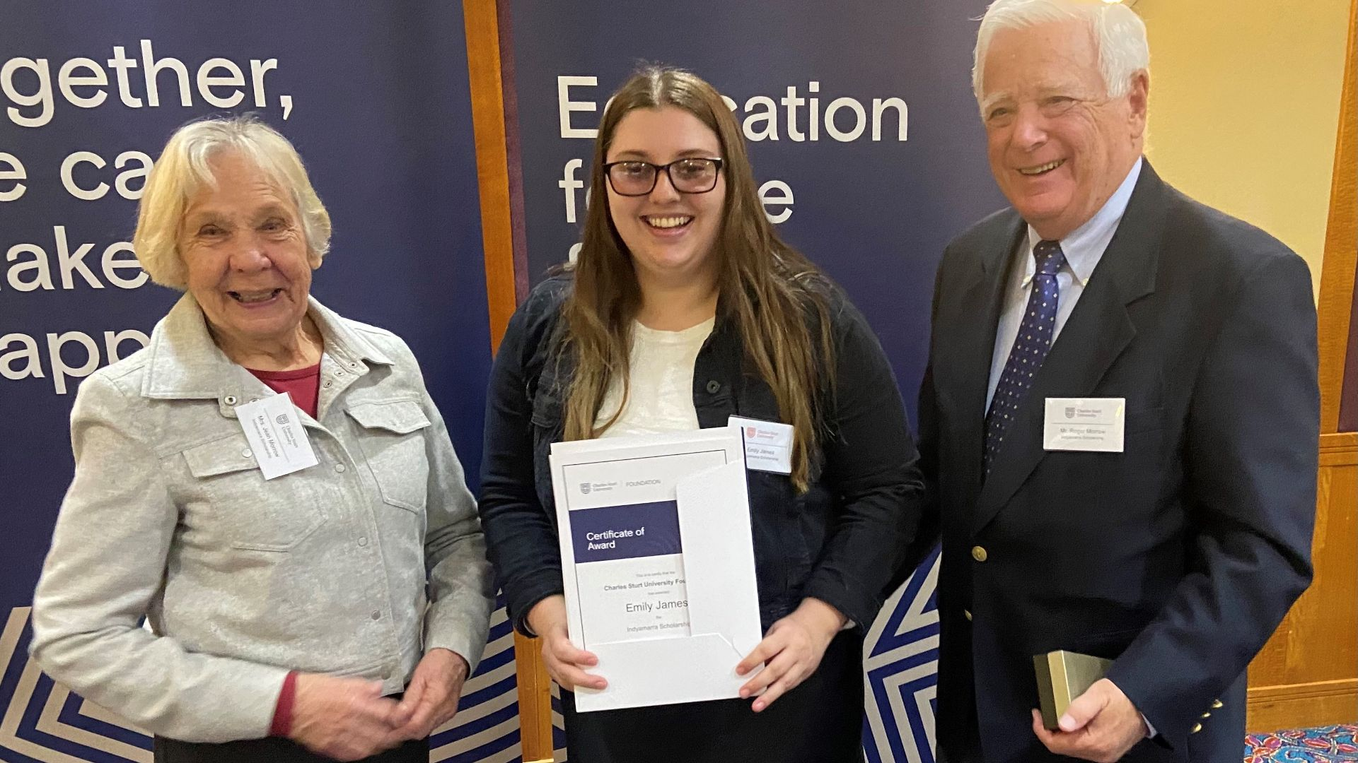 Scholarship secures student's ambition to improve Indigenous health outcomes