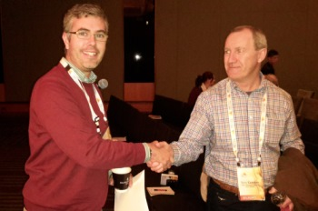 Photo: Ben Ovenden was awarded Best Poster at the International Wheat Conference 2015. Photo acknowledgement: L Emebiri.
