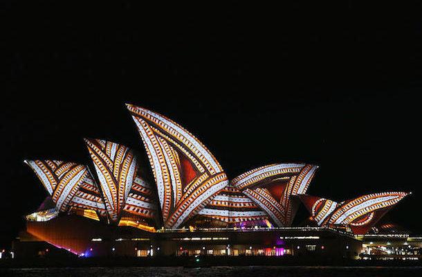 Vivid festival Sydney Opera House