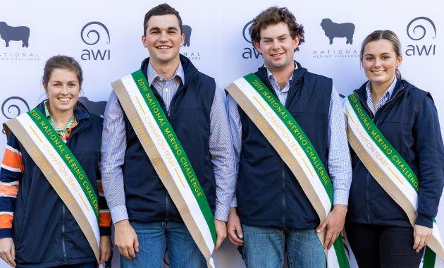 Charles Sturt wins National Merino Challenge