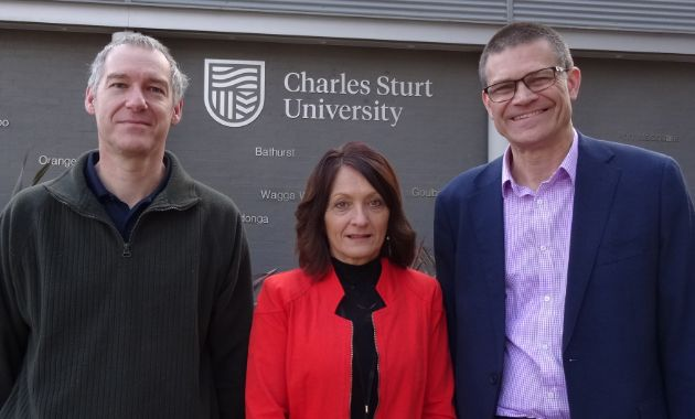 Staff chalk up 30 years at Charles Sturt in Bathurst