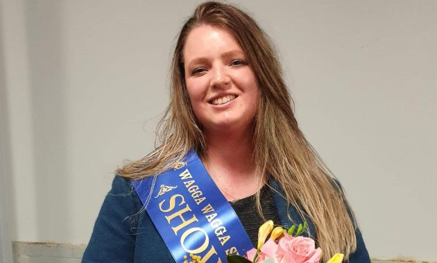 Charles Sturt agriculture student named Wagga Showgirl