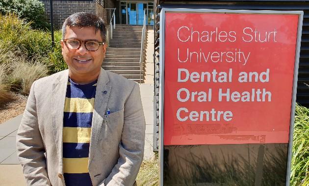 Charles Sturt dentistry lecturer wins international research award