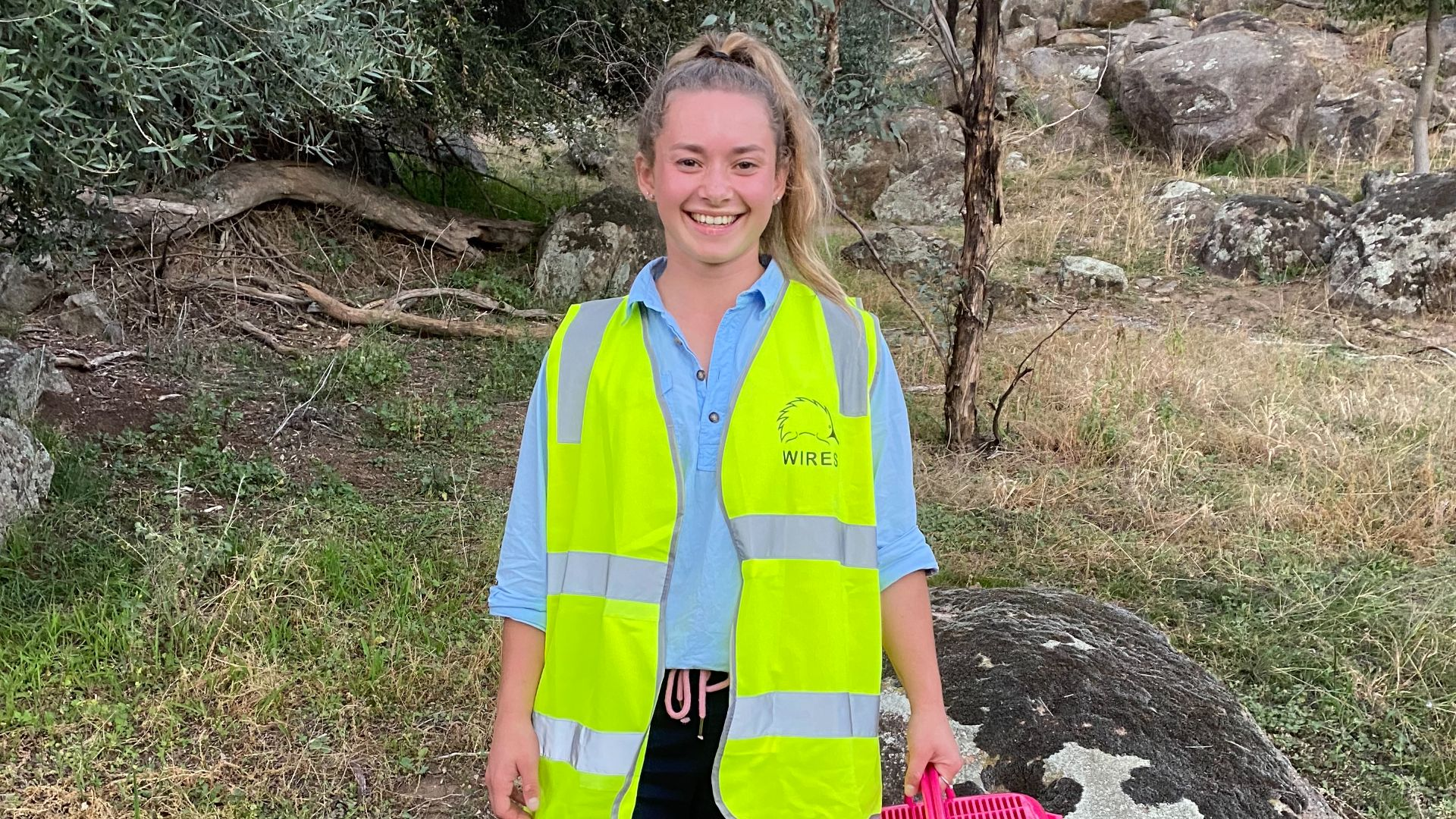 Saving furry friends all in a day's work for student volunteer