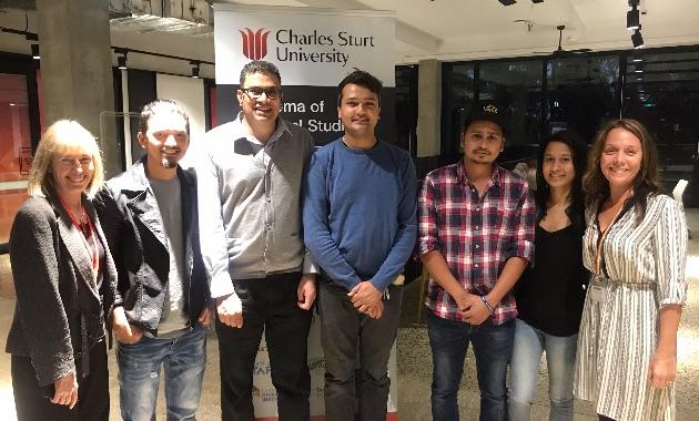 Charles Sturt University in Port Macquarie congratulates first international graduates