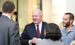 Governor-General Sir Peter Cosgrove with CSU staff and students