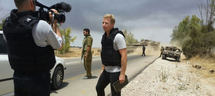 Broadcast journalist Hamish Macdonald