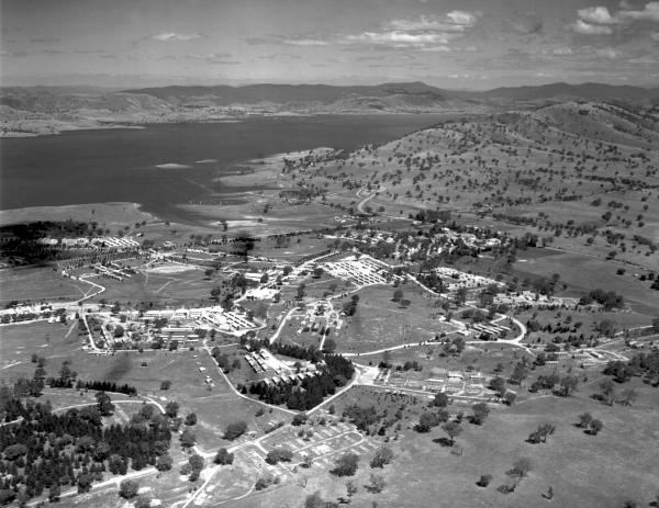Aerial view of Bonegilla