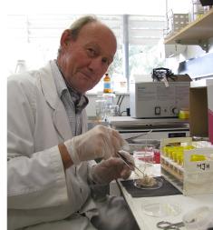 CSU parasitologist Dr David Jenkins.