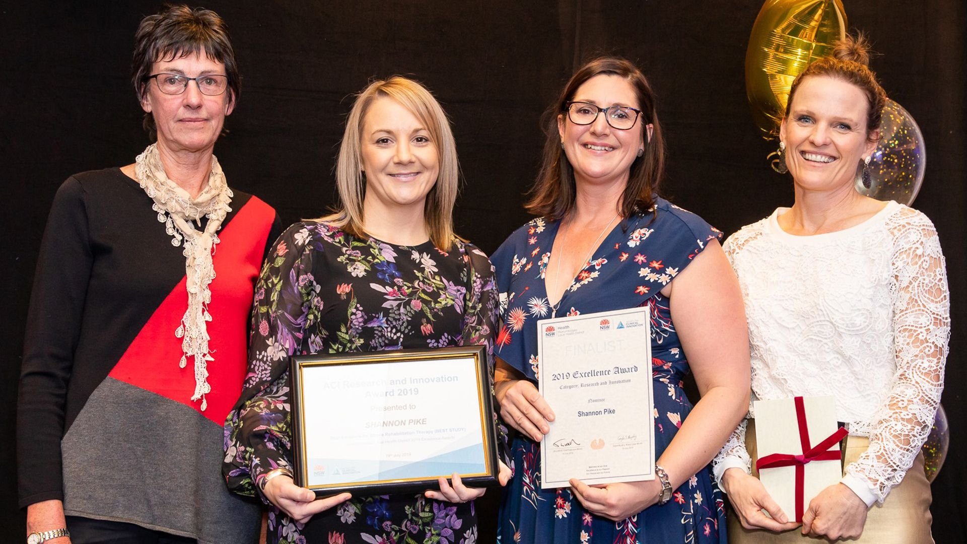 Charles Sturt's health research partner program wins award