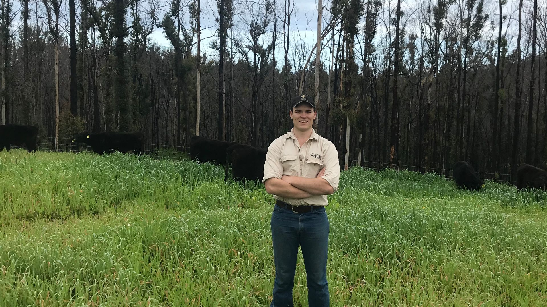 Student loses all in bushfires but thanks University for its support