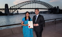 NSW award for international student