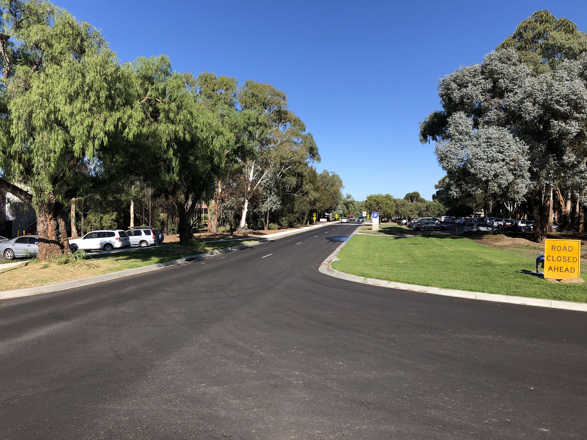 Bathurst Campus Village Drive Road Works, Stage 2