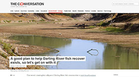 The Conversation - Darling River Fish Plan
