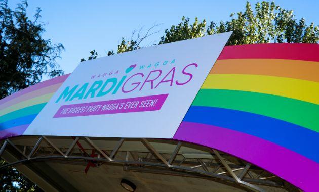 CSU celebrates Wagga's inaugural Mardi Gras!