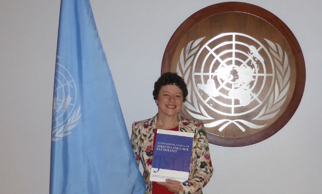 Charles Sturt expert advocates at UN for communication rights