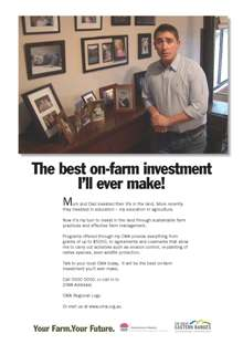 Campaign Poster - The best on-farm investment