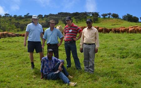 Associate Professor Michael Friend  on Reunion Island
