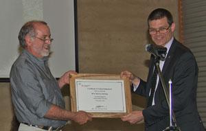 Professor Max Finlayson and Professor Andrew Vann