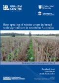 Row spacing of winter crops in broad scale agriculture in southern Australia